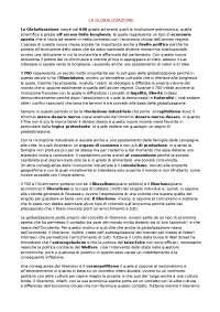 Riassunto sulla Globalizzazione e sulle posizioni di alcuni autori. Liceo delle scienze umane (Sigonio)