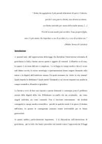 Tesi - tutela della vita e ruolo dell'Assistente sociale