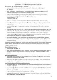 """RIASSUNTO COMPLETO del libro """"ATTENZIONE E PERCEZIONE"""": Dell'Acqua e Turatto"""