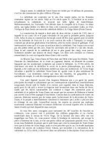 Notre Dame de Paris тема