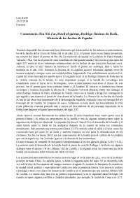 Ibn Abi Zar, Rawd al-quirtas, Rodrigo Jiménez de Rada, Historia de los hechos de España.