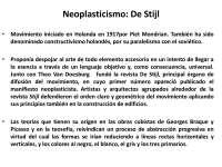 historia del neoplasticismo