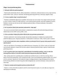 Preduzetnistvo- odgovori kolokvijum