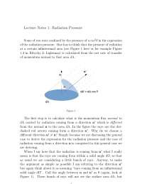 Radiation Pressure - Physics - Lecture Notes.pdf