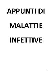 Appunti di Malattie Infettive