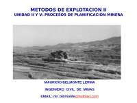 proceso de planificacon minera