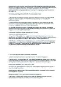Доклад Федеральная служба судебных приставов