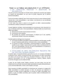 Tema 4 nacionalitat, extranjeria i ciutadania europea