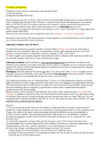 """(ENG) Appunti, integrati con slides e documenti, per il corso di Guerzoni M. """"Economics of Innovation"""""""