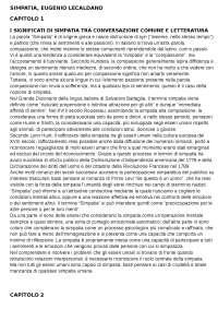 Simpatia, Eugenio Lecaldano