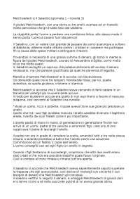 MELCHISEDEC GIUDEO RIASSUNTO DETTAGLIATO