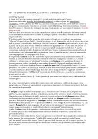 CENNINO CENNINI, IL LIBRO DELL'ARTE - SINTESI DISPENSE MARCONI