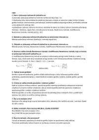Numeričke metode u inž