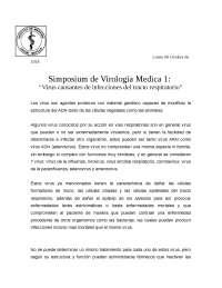 Virus causantes de infecciones tracto respiratorio