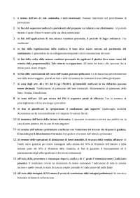 Test procedura penale Unipegaso