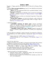 esquemas tema 3 IRPF, Esquemas y mapas conceptuales de Derecho Mercantil