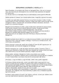 RIASSUNTO DETTAGLIATO DECAMERON - BERGAMINO NARRA A CANGANDE LA STORIA DI PRIMASSO