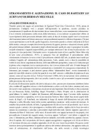 Teoria Della Letteratura: Straniamento e Alienazione