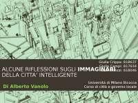 La smart city e i relativi immaginari