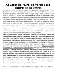 ENSAYO HISTORICO SOBRE LA AUTORIA DE LA INDEPENDENCIA DE MEXICO
