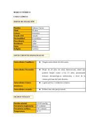 Caso Clínico de herpes simple VHS-1