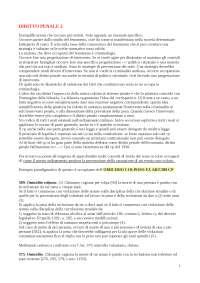 APPUNTI DEL DIRITTO PENALE II