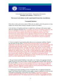 Principio de Economía Problem Set 13 with Solution Eng