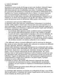 riassunto. il codice deviante. Federico D'Agostino