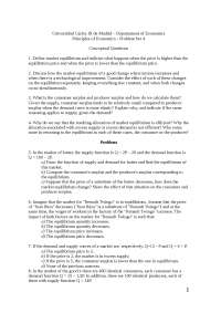 Principio de Economía Problem Set 4 without Solution Eng