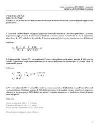 Esercitazione 3 - soluzione (azioni)