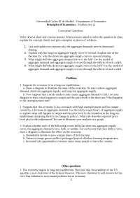Principio de Economía Problem Set 12 without Solution Eng