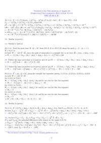 EMT chapter 4 drill problems solution