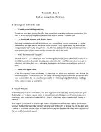 manage effective leadership skills
