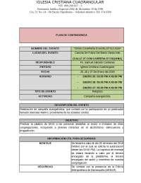 EJEMPLO PLAN DE CONTINGENCIA