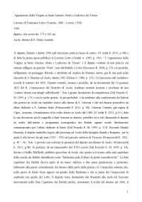 Pala di Asolo di Lorenzo Lotto