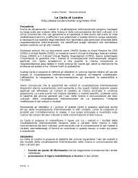 London charter versione italiana