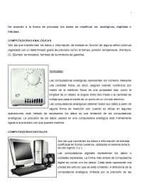 TIPOS DE COMPUTADORAS Y SU HISTORIA