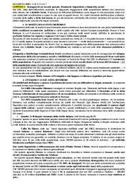 """Riassunto libro """"Sociolinguistica dell'Italia contemporanea"""" di M. D'Agostino"""