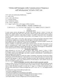 """""""Diritto dell'Immagine nella Comunicazione d'Impresa e nell'Informazione"""" di S. Dell'Arte"""