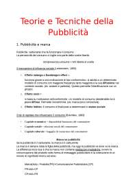 """Pubblicità: teorie e tecniche"" di M. Ferraresi"