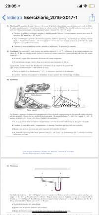 Esercizi di fisica medica