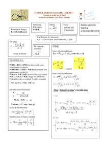 Formulario statistica medica