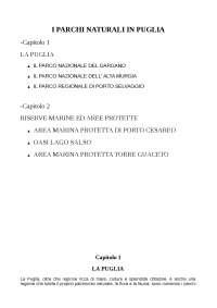 I parchi naturali in Puglia