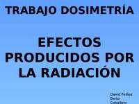 DOSIMETRIA RADIOTERAPIA