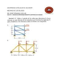 GUÍA DE ARMADURAS por método de los nodos o nudos