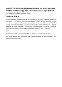 ELABORATO FISICA TECNICA AMBIENTALE