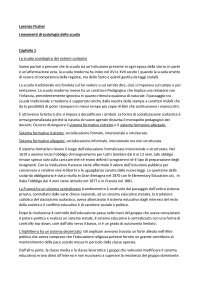 Lorenzo Fischer - Lineamenti di sociologia della scuola