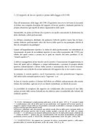 profili di diritto sindacale sportivo