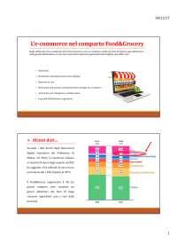 E-commerce sistema agroalimentare