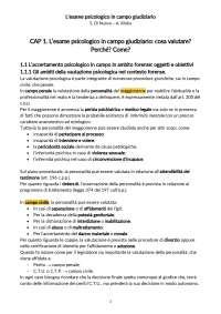 L'esame psicologico in campo giudiziario - S. Di Nuovo; A. Xibilia